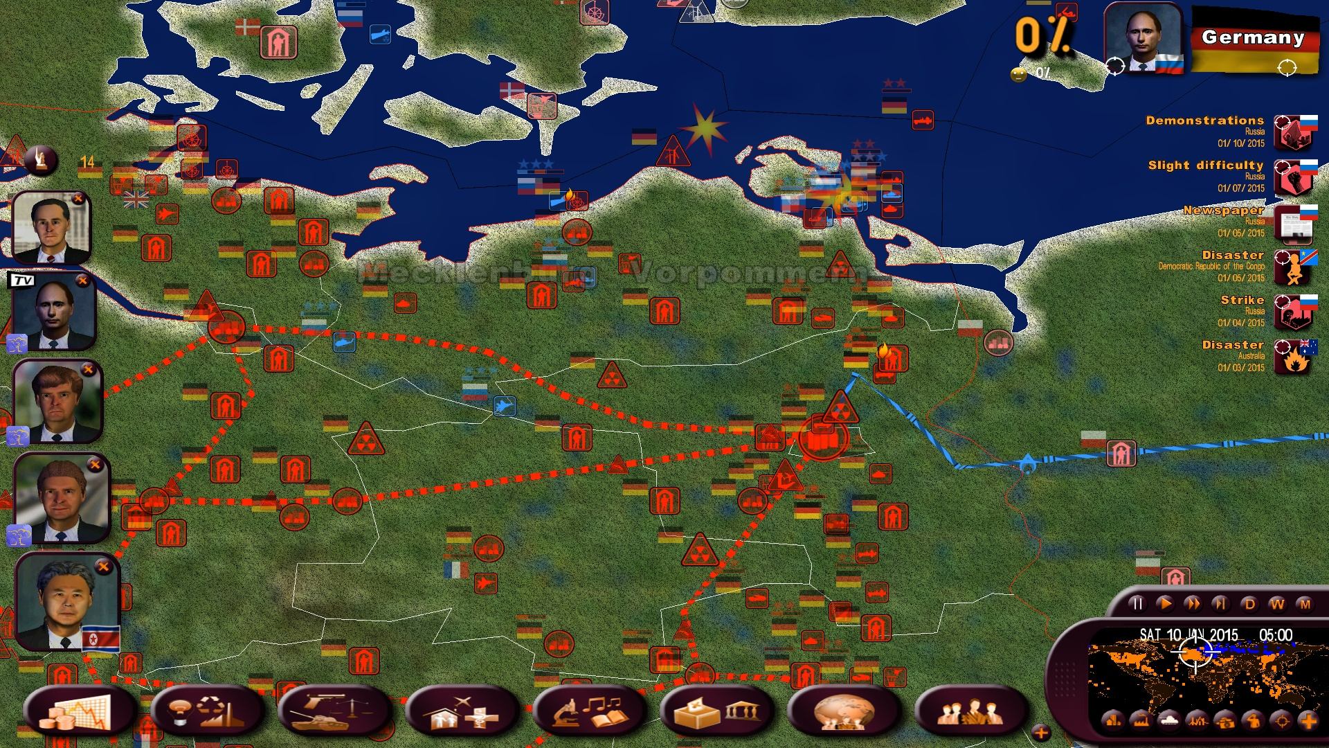 rulers nations political simulator strategy real time grand down