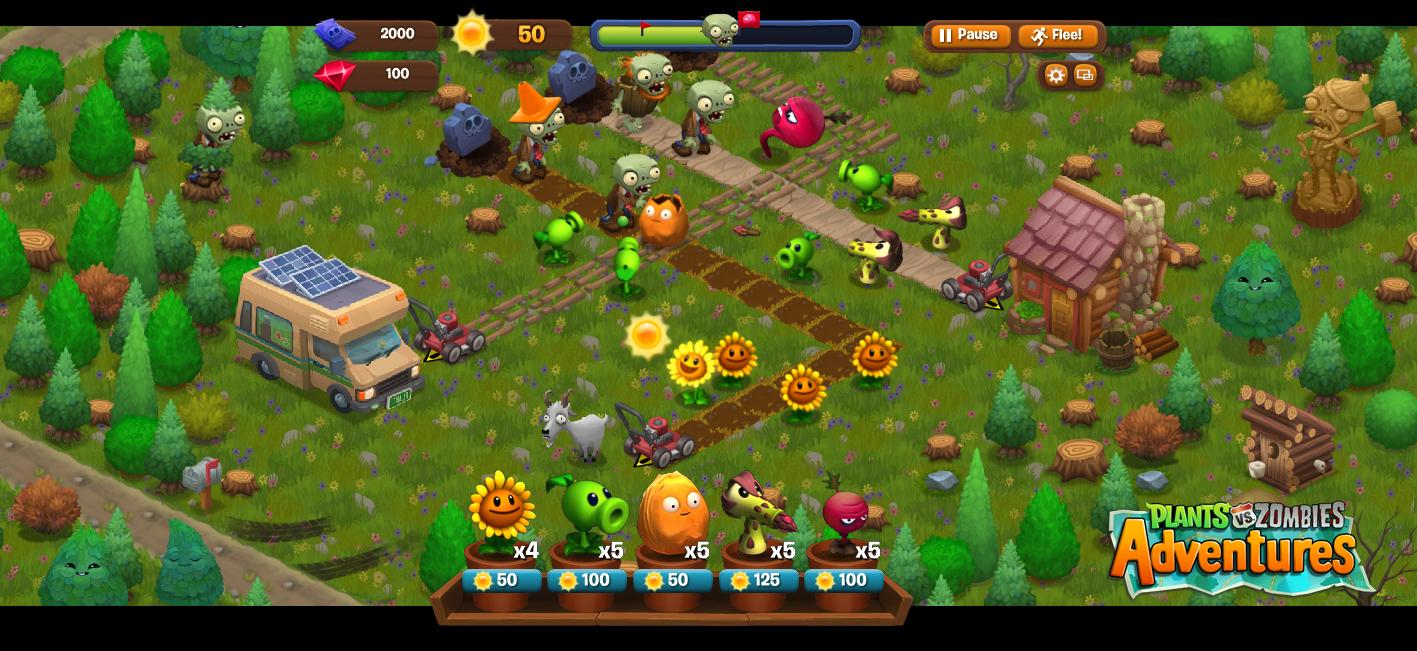 popcap game plants vs zombies 2