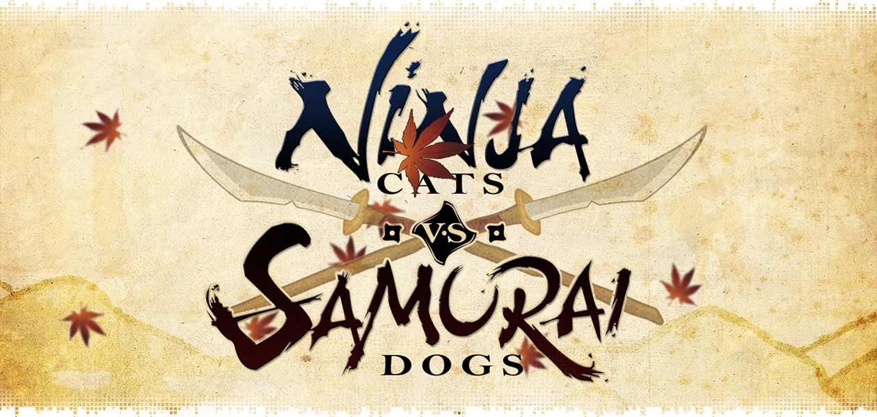 logo-ninja-cats-vs-samurai-dogs-review